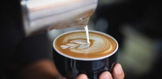 コーヒーのドリップポット